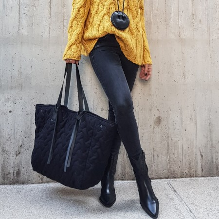 Vibe Shopper Black
